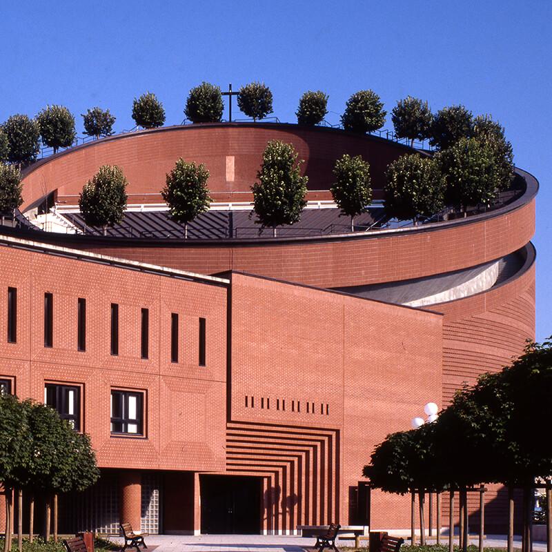 Mario Botta - Cattedrale della Resurrezione di Evry (Francia)